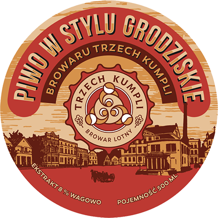 Etykieta - Beer in the style of Grodziskie