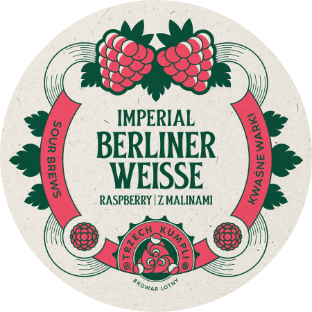 Etykieta - Imperial Berliner Weisse with raspberries