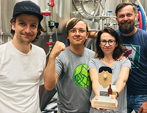 "Article thumbnail - ""Best EU Brewery"" title for Trzech Kumpli!"