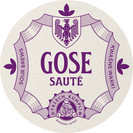 Etykieta - Gose Sauté
