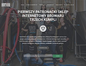 Article thumbnail - Kraftklub.pl – our first Patronage Shop online