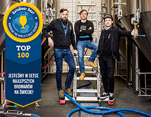 Article thumbnail - We are in the top 100 best breweries in the world!